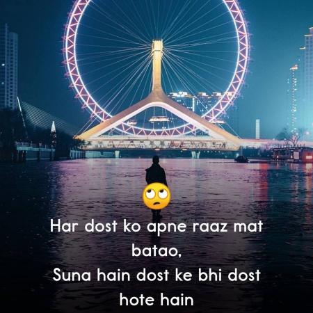 Friendship Shayari Lines Dp Status   Mirchistatus