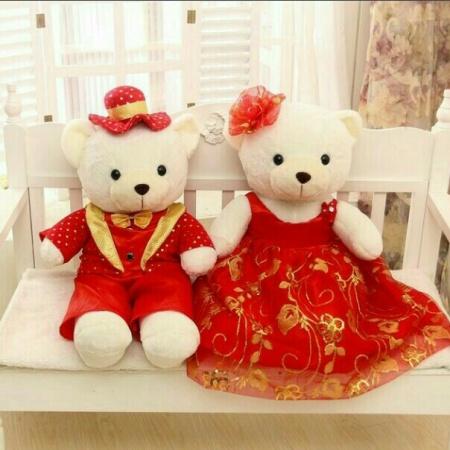 Cute Teddy Couple Dp Status Mirchistatus